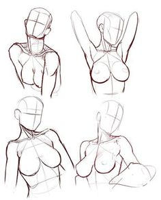 draw female body - Buscar con Google