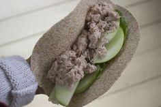 Recette de wrap au thon et pommes vertes