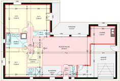 Corner House, Home Organisation, My Dream Home, House Plans, Sweet Home, Villa, Floor Plans, House Design, Cabin