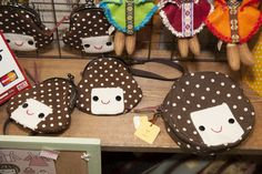 Adorable pouch designs by artist coneru アーティストconeruさんの可愛いポーチデザイン Design Festa