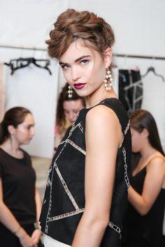 Nicole Miller Spring 2014 beauty love love.....(M) Bella Donna