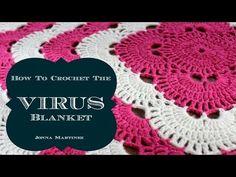 Virus Crochet Blanket [Free Pattern] | My Hobby