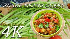 How to make Green beans curry Green Beans Recipe Indian, Green Bean Recipes, Beans Recipes, Green Bean Curry, Amazing Food Videos, Long Bean, Tomato Curry, Beans Curry, How To Make Greens