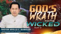 God's Wrath for the Wicked - Part 3 Spiritual Enlightenment, Spirituality, Thank You Pastor, New Jerusalem, Simile, Bible Truth, Son Of God, Apollo, Gods Love