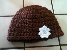 Quick Crochet Hat... Free pattern