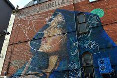 "SKL D Sgn - Public - 15 août 2014 : ""A survey of some of Melbourne's best street art, both commissioned murals and graffiti. Melbourne Street, Melbourne Graffiti, Michael Clayton, Brunswick Street, Best Street Art, Great Artists, Art Museum, Melbourne Australie, Wall Art"