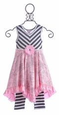 Giggle Moon Milan Hanky Dress for Girls