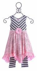 Giggle Moon Milan Hanky Dress for Girls