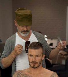 Mens Hair David Beckham