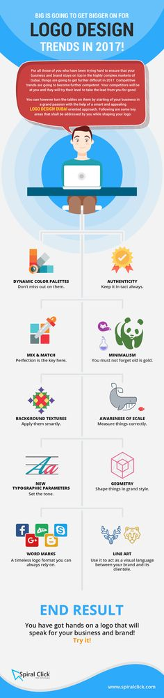 Big Is Going To Get Bigger On For Logo Design Trends In 2017!