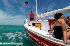 Virée sur le voilier de Raggamuffin Tours à Caye Caulker au Bélize