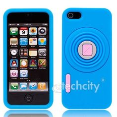 #Camera Stand #Silicone Case for #iPhone 5 [SC-CAMSTSN] - $14.00