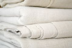 pale cream soft hemp linen sheet