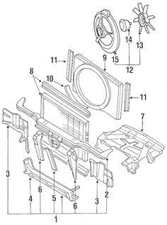 16 240sx Parts Diagrams Ideas Nissan 240sx Nissan Radiator Fan
