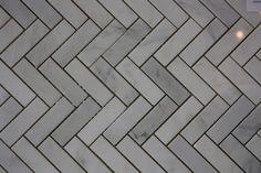 Herringbone Tiles | Saltillo Imports Inc.- Bathroom floor and Backsplash