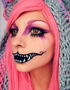 Интересные варианты макияжа на Хэллоуин