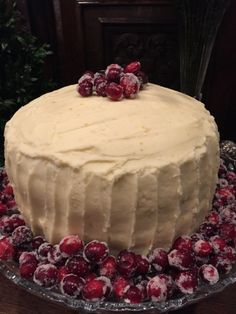 kathryn c greeley north carolina interior designer and author of the collected tabletop presents cranberry layer cake for christmas holidays