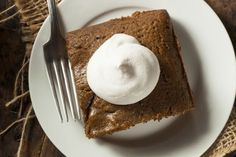 Slow Cooker Gingerbread Pudding Cake - DELICIOUS!  www.GetCrocked.com
