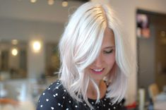 My Journey To A Platinum And Pale Pink Long Bob - xoVain