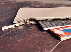 Mini clutch | Leather clutch | NUDE | june-shop