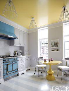Yellow Kitchen Decorating Ideas Lovely 40 Blue Kitchen Ideas Lovely Ways to Use Blue Cabinets and Home Design, Interior Design, Design Interiors, Home Decor Kitchen, Kitchen Design, Kitchen Ideas, Kitchen Photos, Kitchen Stuff, Layout Design