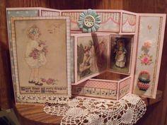 Vintage Birthday tri-fold card - Scrapbook.com