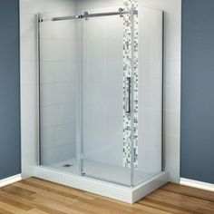 MAAX Halo 60 in. x 31-7/8 in. Corner Shower Enclosure with Tempered Glass in Chrome-105945-900-084-100 - The Home Depot