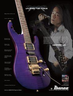 2008-Awesome guitar-Herman Li-next on the list!