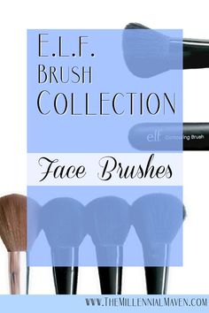 E.l.f. Face Brushes Collection (Must-Haves for Makeup Lovers!)