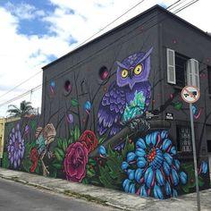 By @binho3m  #streetart #Arteurbana #grafitti #misturaurbana by misturaurbana