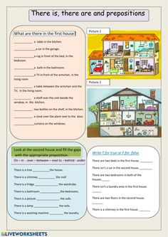 There is, there are and prepositions Language: English Grade/level: Pre-intermidiate School subject: English as a Second Language (ESL) Main content: There is - there are Other contents: Prepositions Learning English For Kids, English Language Learning, Teaching English, English Pronouns, English Grammar Worksheets, Prepositions Worksheets, English Lessons, Learn English, English Class