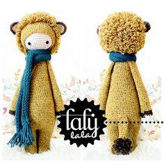 Amigurumi Crochet Patterns by lalylala Crochet Amigurumi, Amigurumi Doll, Crochet Dolls, Yarn Projects, Crochet Projects, Single Crochet, Double Crochet, Cute Crochet, Knit Crochet