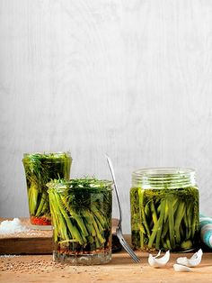 Quick pickling at home is an easy way to give homegrown vegetables the deliciously briny, tangy flavor you love, and it's easy to add whatever herbs and spices you choose; this recipe is packed with fresh, fragrant dill.