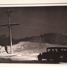 Aquatint #etching by Martin Lewis seen at @diadetroit private collection. #printcity #detroit #printmaking #mapc #mapc2014 #mapcdetroit plunkettology's photo on Instagram
