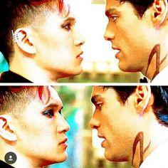 KISS KISS KISS KISS  #themortalinstruments #tmi #shadowhunters #jacewayland #jaceherondale #claryfray #isabellelightwood #aleclightwood #maxlightwood #simonlewis #maryselightwood #robertlightwood #theclave #jocelynfairchild #valentine #lukegarroway #shadowhunterstv #magnusbane #malec #sizzy #clace #emmacarstairs #jemcarstairs #tessagrey #willherondale #malcolmfade #julianblackthorn #markblackthorn #cristinarosales #saphael by theliqhtwoods #Valentine's Day Valentine #Valentines