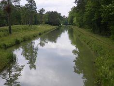 CLEMONT : canal de la Sauldre