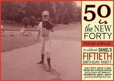 50th+Birthday+Invitation+or+ANY+age+WITH+by+BreannaGalatte+on+Etsy,+$19.00
