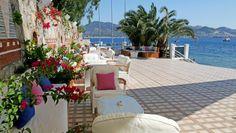 Avantgarde Hotel Yalikavak: Sun terraces overlook the sparkling Aegean Sea.