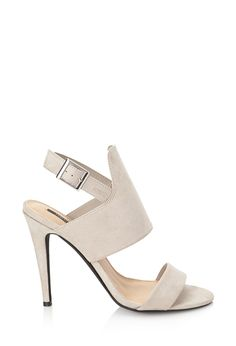 Faux Suede Stiletto Sandals - Womens shoes and boots | shop online | Forever 21 - 2000057853 - Forever 21 EU €25.45