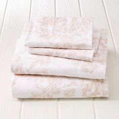 Great Bay Home Extra Soft Turkish Cotton Flannel Printed Bed Sheet Set (toile - blush pink - Queen) Mauve, Blush Pink, 100 Cotton Sheets, Cotton Sheet Sets, Bedding Basics, Twin Sheet Sets, Fine Linens, Queen