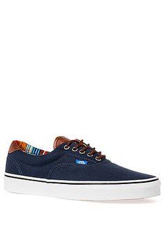 Vans Footwear Sneaker 59 Sneaker in C&L Dress Blues & Multi Blue