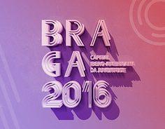 "Check out new work on my @Behance portfolio: ""Braga 2016 // Brand Proposal "" http://be.net/gallery/32220855/Braga-2016-Brand-Proposal-"