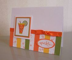 CC218 Sparkling Summer by LaLatty - Cards and Paper Crafts at Splitcoaststampers