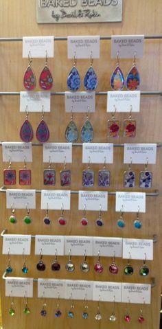 Baked Beads Earrings