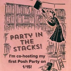 I'm co-hosting my first party!  I'm so excited to be co-hosting my very first Posh party! Please join me on 1/15, 7pm! Theme TBD. Other