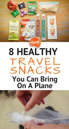 8 Healthy Snacks You Can Bring On A Plane. Travel ike a pro with these 8 snack ideas. Find Us Here: http://thetravelbite.com