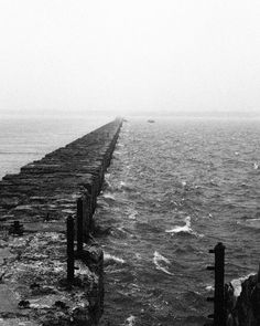 Karosta Pier Liepaja Latvia 2014.  15 km long for this pier constructed in the beginning of the 20th century.  One of the most amazing war architecture.  #pier #architecture #concrete #sea #ocean #karosta #latvia #landscape #35mm #filmcommunity #film #analog #ilford #delta400 #hasselblad #blackandwhite #bw #bw_society #bw_crew #monotone #noir #neverstopexploring #igers #potd #analogfeatures #filmisnotdead #vsco #vscocam #thephotosociety by johann.bertelli