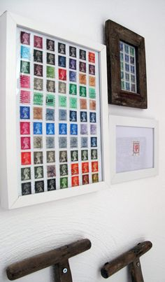 Wohnen mit Briefmarken