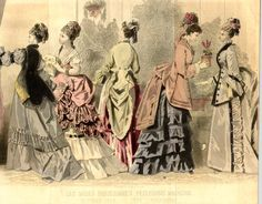 1800년대 후반 패션잡지 - Graham's Fashion Magazine, Godey's : 네이버 블로그