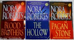 Nora Roberts Sign of Seven Trilogy. $4.25